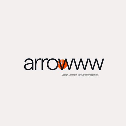 UI modeling v3 — arrowww Design & custom software development