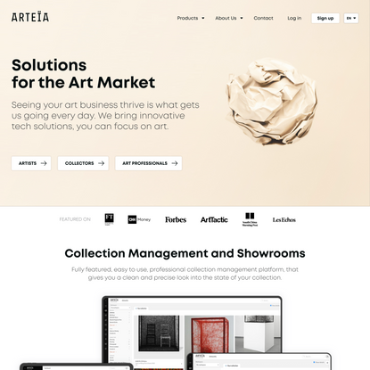 Arteïa | Solutions for the Art Market