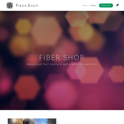 FiberShop   Hair-Card Texture Generator in Realtime