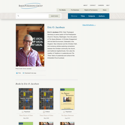 Authors | Baker Publishing Group