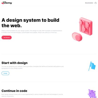 Design System - Cherry