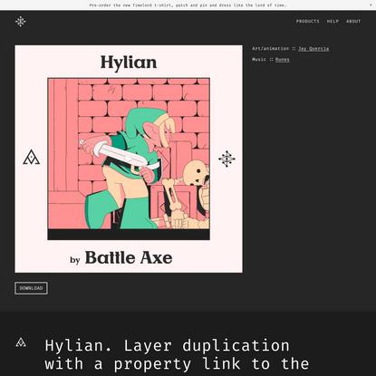 Hylian — Battle Axe