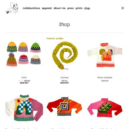 Shop — Marta Nowak