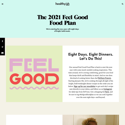 The 2021 Feel Good Food Plan