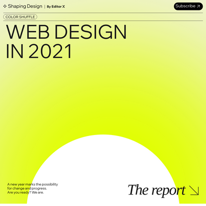 Web Design Trends in 2021: The Report