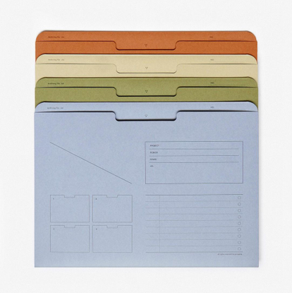 """Present & Correct on Instagram: """"Archive Folders. Online now & tabbed for your pleasure. — Link in profile."""""""