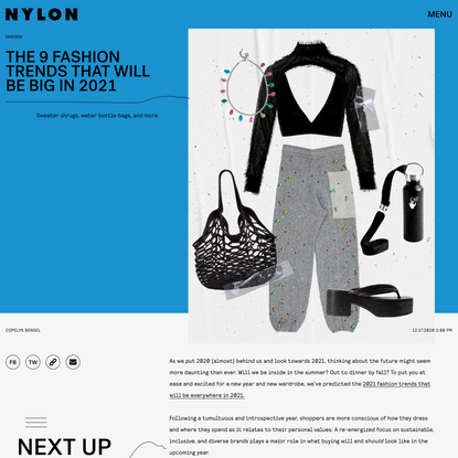 The 9 Fashion Trends That Will Be Big In 2021