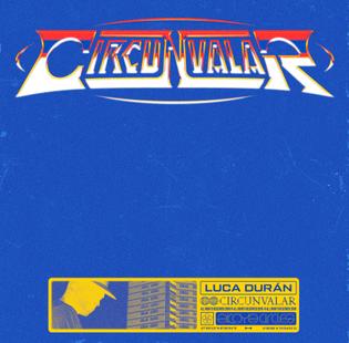 Luca Durán - Circunvalar (frontcover)