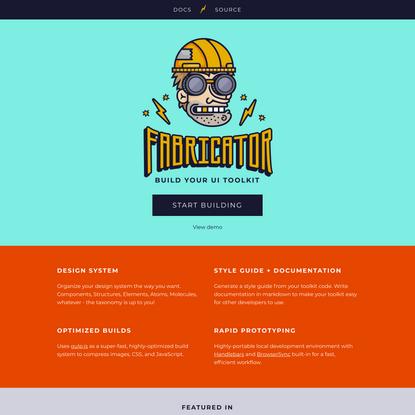 Fabricator - Build your UI toolkit