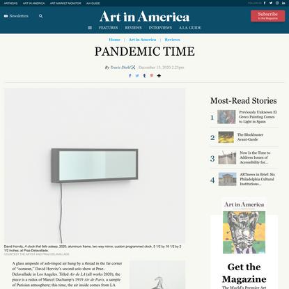 Review: David Horvitz, 'oceaean' at Praz-Delavallade, Los Angeles – ARTnews.com