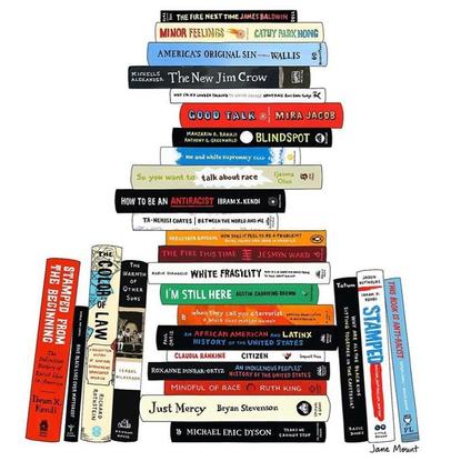 Anti-Racist Book LIst by twentie stories bookstore LA