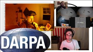 Mikey Room: Erik Carter & Michael Oswell: Brand New CIA Rebrand Under Consideration - michaeloswellgfxdezeen on Twitch