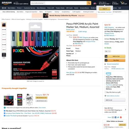 Posca PXPC5M8 Acrylic Paint Marker Set, Medium, Assorted https://www.amazon.com/dp/B000IGY28M/ref=cm_sw_r_oth_api_glc_fabc_8-s9Fb3AFZABH