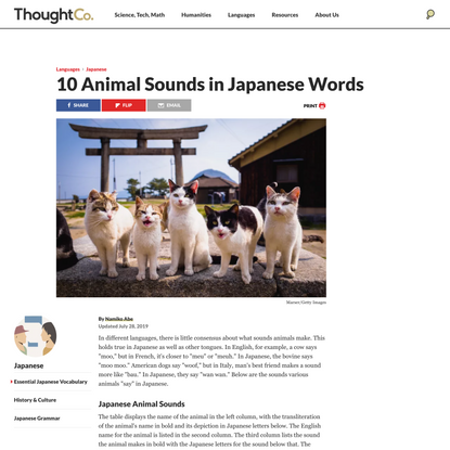 What Does a Dog Say in Japanese?