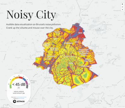 Brussels - A Noisy City