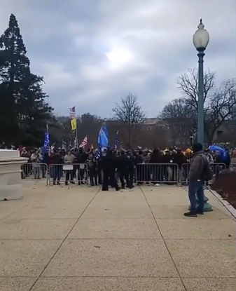 """James K on Instagram: """"Apparently the cops opened the barricades, allowed rioters to breach the capitol, and actually marche..."""