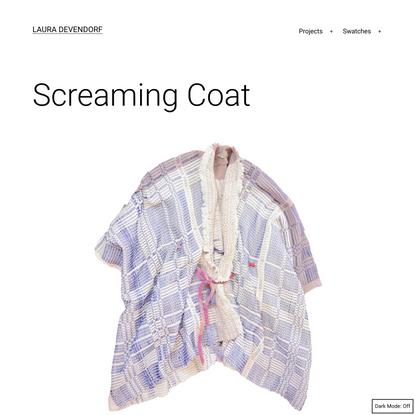 Screaming Coat – Laura Devendorf