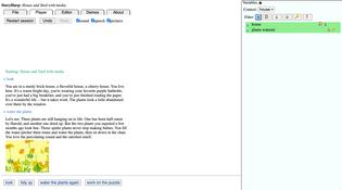 StoryHarp (interactive fiction dev, conversational storytelling)