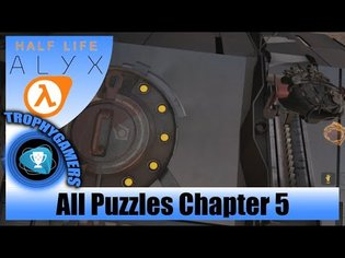 Half-Life Alyx - All Puzzle Solutions Chapter 5: The Northern Star