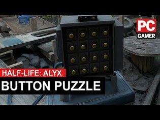 Half-Life: Alyx Button Puzzle Solution