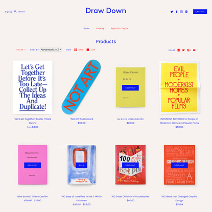 Products – Draw Down