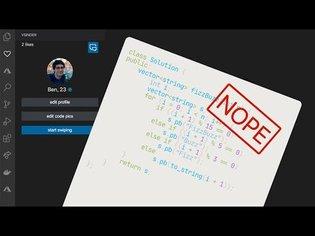 VSCode Tinder