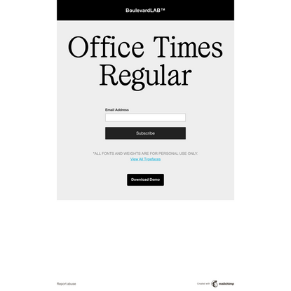 Office Times Free Trial