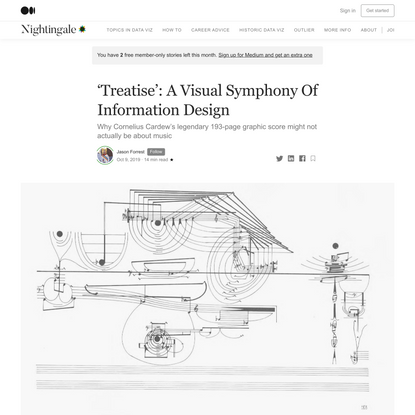 Treatise: A Visual Symphony Of Information Design