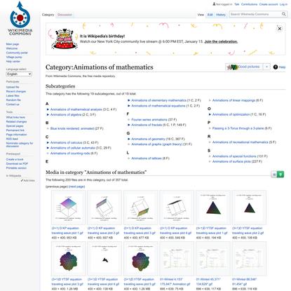 Category:Animations of mathematics - Wikimedia Commons