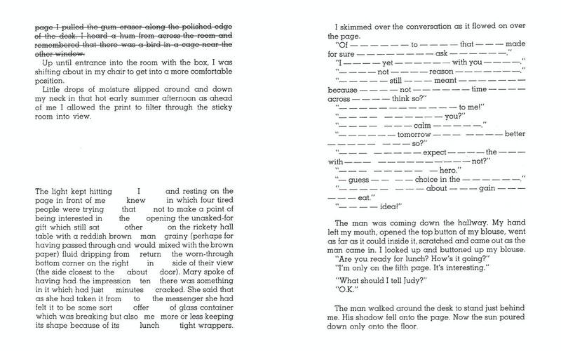 excerpt from WORD RAIN