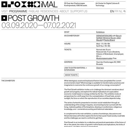 Post Growth: 03.09.2020 - 17.01.2021