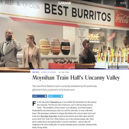 Moynihan Train Hall's Uncanny Valley