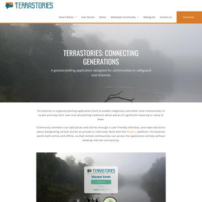 Home - Terrastories