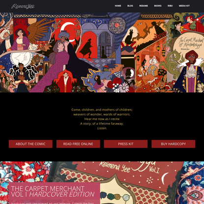 The Carpet Merchant of Konstantiniyya - Reimena Ashel Yee