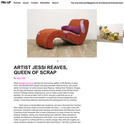 ARTIST JESSI REAVES, QUEEN OF SCRAP