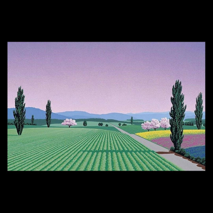 """T.C.P on Instagram: """"A painted piece from the legend that is Hiroshi Nagai. Happy Easter ✌️"""""""