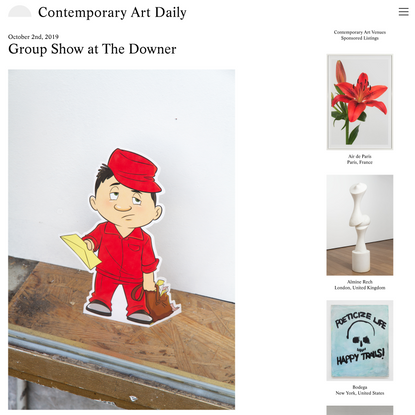 Contemporary Art Daily » Blog Archive » Group Show at The Downer