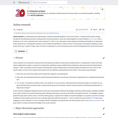 Action research - Wikipedia