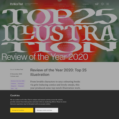 Review of the Year 2020: Top 25 Illustration