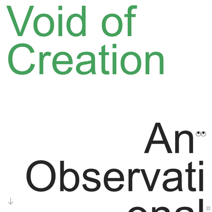Void of Creation