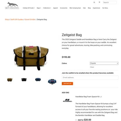 Zeitgeist Bag