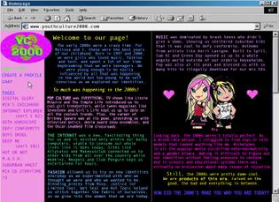 YOUTH CULTURE 2000 WEBZINE