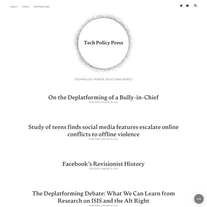 Tech Policy Press