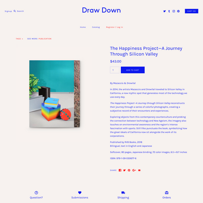 The Happiness Project—A Journey Through Silicon Valley - Draw Down