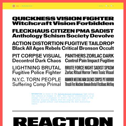 HEX –Reformation