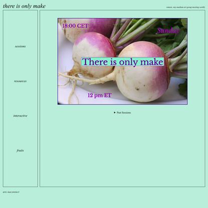 only make