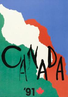 Canada '91 by Ikko Tanaka