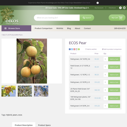 Products – OIKOS Tree Crops