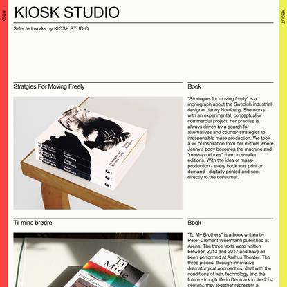 KIOSK STUDIO, Josefin Askfelt, Emil Willumsen