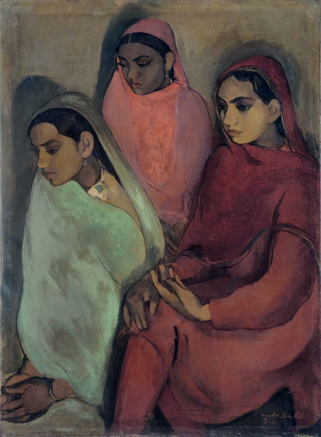 sher gil three women